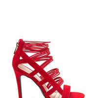 Strike A Cord With Me Strappy Heels