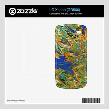 Cell Phone Skin, Original abstract painting, Select LG, Motorola, Nokia, Palm, Pantech and Samsung styles, Free Shipping