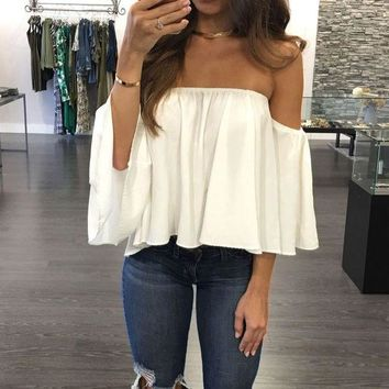 Chiffon Kimono Blusas Feminina Sexy Off Shoulder Women Blouses Casual Shirt Plus Size Camisas Mujer Half Sleeve Ladies Tops