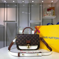LV Louis Vuitton WOMEN'S MONOGRAM CANVAS Vaugirard HANDBAG INCLINED SHOULDER BAG