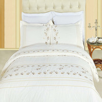 Tasneen Egyptian cotton Embroidered Duvet Cover Set
