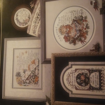 Stoney Creek Collection Thoughts Of Wisdom Cross Stitch Sampler Pattern Book 104