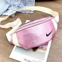 NIKE x PUMA x ADIDAS Joint Name Fashion Hot Selling Male and Female Pure Luggage Pink NIKE