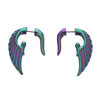 Iridescent Wings Faux Pinchers | Hot Topic