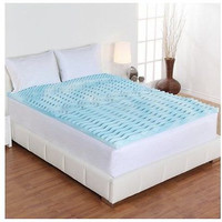 King Size Dream Form 2-inch Orthopedic 5-zone Cooling Gel Foam Mattress Topper