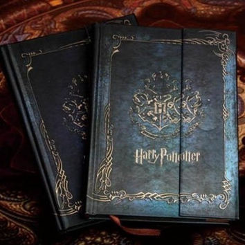 hot agenda Planner G Vintage harry potter notebook Diary Book Hard Cover Notepad Planner Gift 2017-2018-2019 calendar book