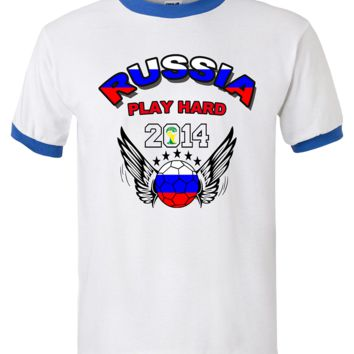 RUSSIA WORLD CUP T SHIRTS