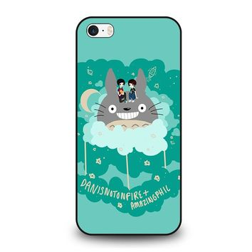 DAN AND PHIL TOTORO iPhone SE Case Cover