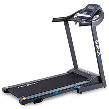 2.25HP Electric Treadmill Foldable Running Jogging Fitness Machine for Home & Gym Black Jaguar Ⅲ