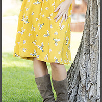 Dreamy Floral Skirt [MSS2013] - $44.99 : Mikarose Boutique, Reinventing Modesty