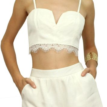 Sweet Sorbet White Two-Piece Set
