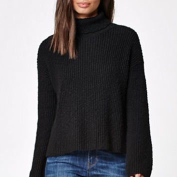Kendall & Kylie Slub Turtleneck Pullover Sweater at PacSun.com