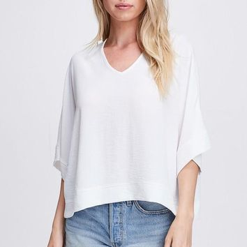 Double Life Top - Off White