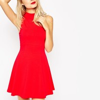 ASOS High Neck Empire Dress