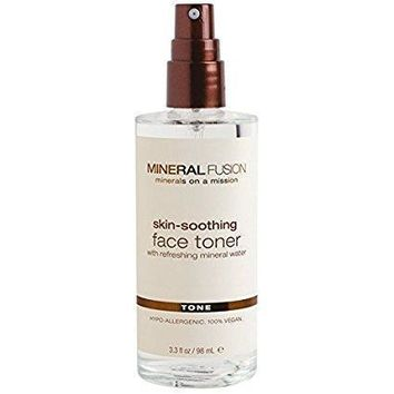 Mineral Fusion Face Toner, Skin Soothing - 3.3 Fz