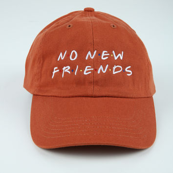The Friends Dad Hat in Rust