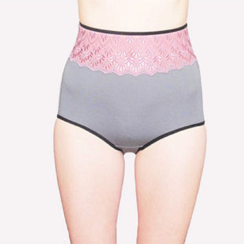 very elegant high waisted panties by Egretta Garzetta underwear