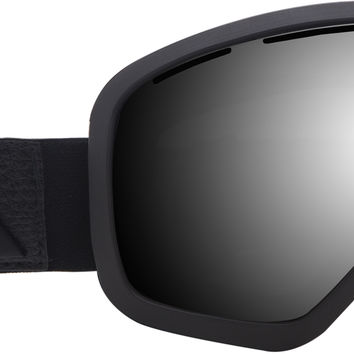 Ashbury Bullet Goggles - Blacked Out/Dark Smoke + Yellow Lens