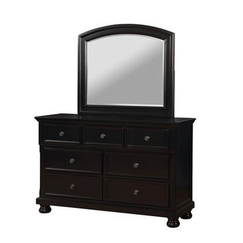 Trin Transitional Dresser and Mirror