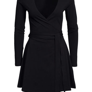 Hands On Tie Dress, NLY Trend