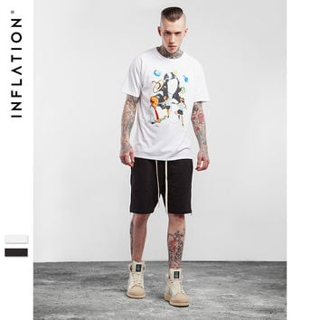 New Spring Summer T shirts Graphic t shirts Men Fashion short sleeved Male Streetwear Hip Hop Men Printed Tshrt