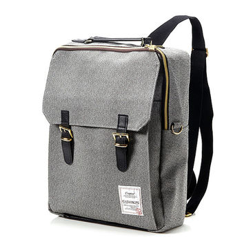 Golden Square Backpack (Black)