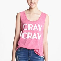 Project Social T 'Cray Cray' Graphic Muscle Tank (Juniors) | Nordstrom