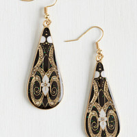 Boho In With the Nouveau Earrings by ModCloth