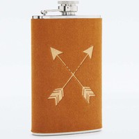 Leather Arrow Hip Flask - Urban Outfitters