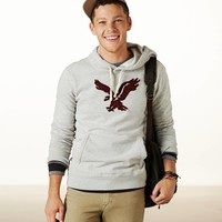 AEO Men's Heritage Fleece (Grey Heather)