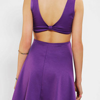 Pins And Needles Knit Bow-Back Skater Dress