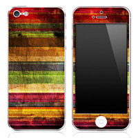 Vintage Striped iPhone 3g/3gs, 4/4s or 5 Skin