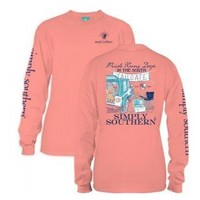 Simply Southern Long Sleeve Tees - TAILGATE