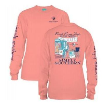 *Closeout* Simply Southern Long Sleeve Tees - TAILGATE
