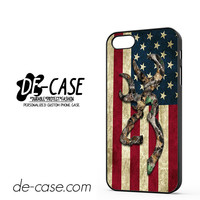 Browning Deer Camo American Flag DEAL-2143 Apple Phonecase Cover For Iphone 5 / Iphone 5S