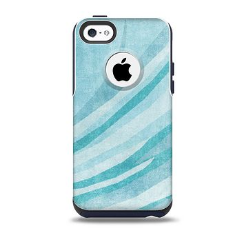 The Vintage Blue Swirled Skin for the iPhone 5c OtterBox Commuter Case