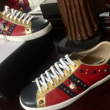 Gucci Bengal Sneakers (Eu. Size 43/US Size (9 1/2-10)