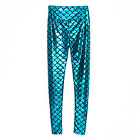 Ariel Mermaid Leggings