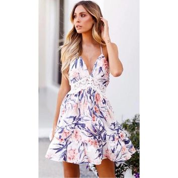NECTAR BLOSSOM Lace Summer Dress