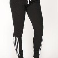 Lover Lounge Jogger - Black