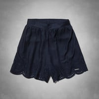 Ashton Natural Waist Culotte Shorts