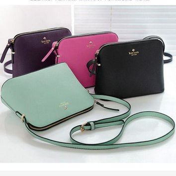 DCCKN6V Kate Spade Fashion Trending Women Leather Multi Color Handbags Shoulder Bag Inclined Shoulder Bag G