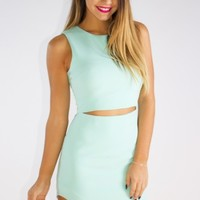 Tammy Dress Mint - New Arrivals