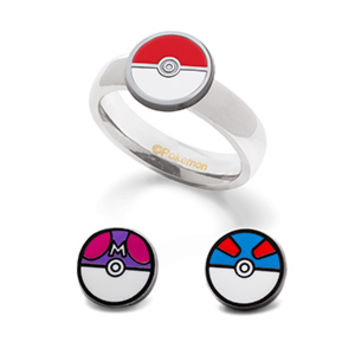 Poké Ball Interchangeable Ring