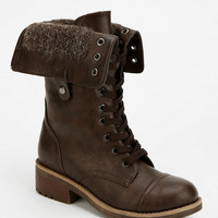 Urban Outfitters - Wanted Recruit Fold-Over Combat Boot