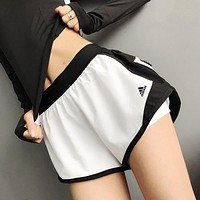 Adidas Women Run Gym Yoga Sport Shorts