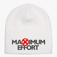 Maximum Effort Deadpool - Black Knit Beanie