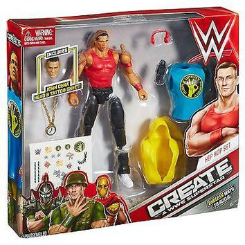 Create a WWE Superstar John Cena Pack
