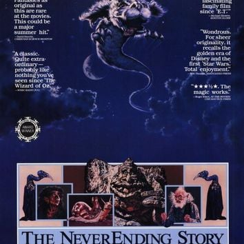 The Neverending Story 11x17 Movie Poster (1984)