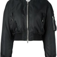 Givenchy Cropped Bomber Jacket - Farfetch